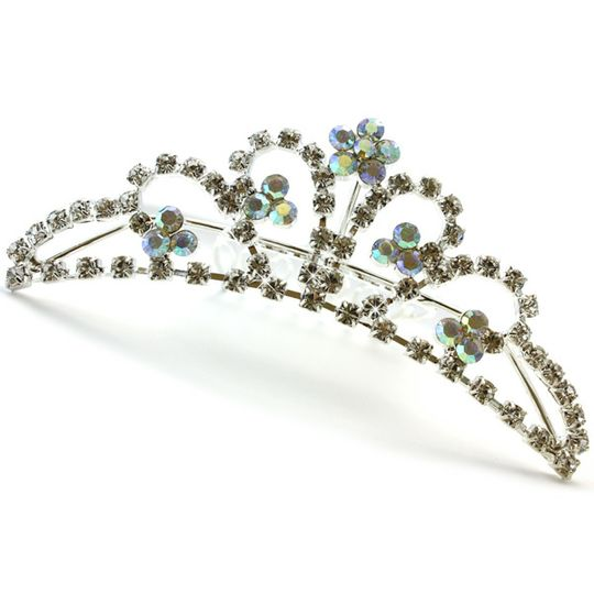 Crystal Flowers Bridal Tiara