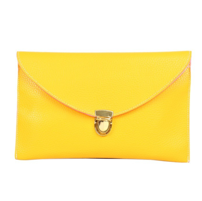 Find great deals on eBay for yellow clutch bag. Shop with confidence.