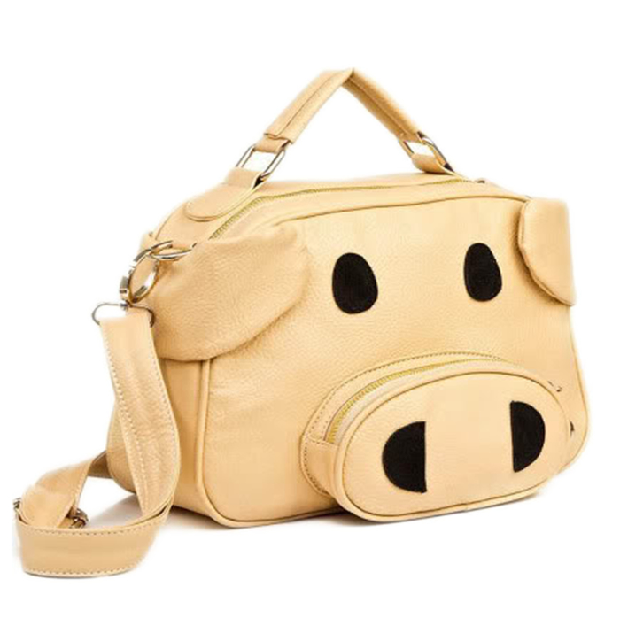 Cute Pig Shoulder Bag