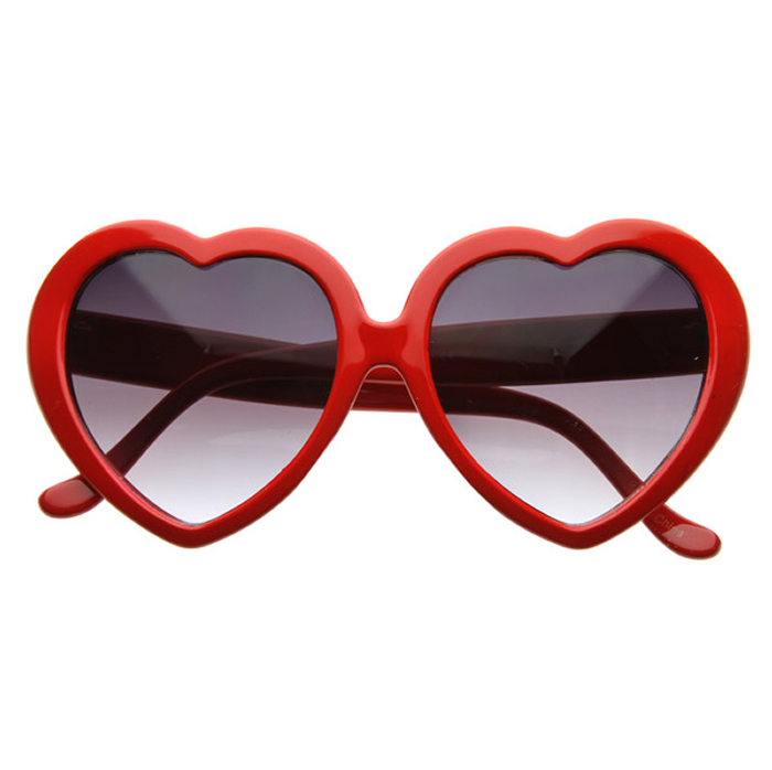 Quirky Heart Shaped Sunglasses as seen on Taylor swift - photo#32